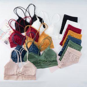 Backless Lace Underwear Set 2